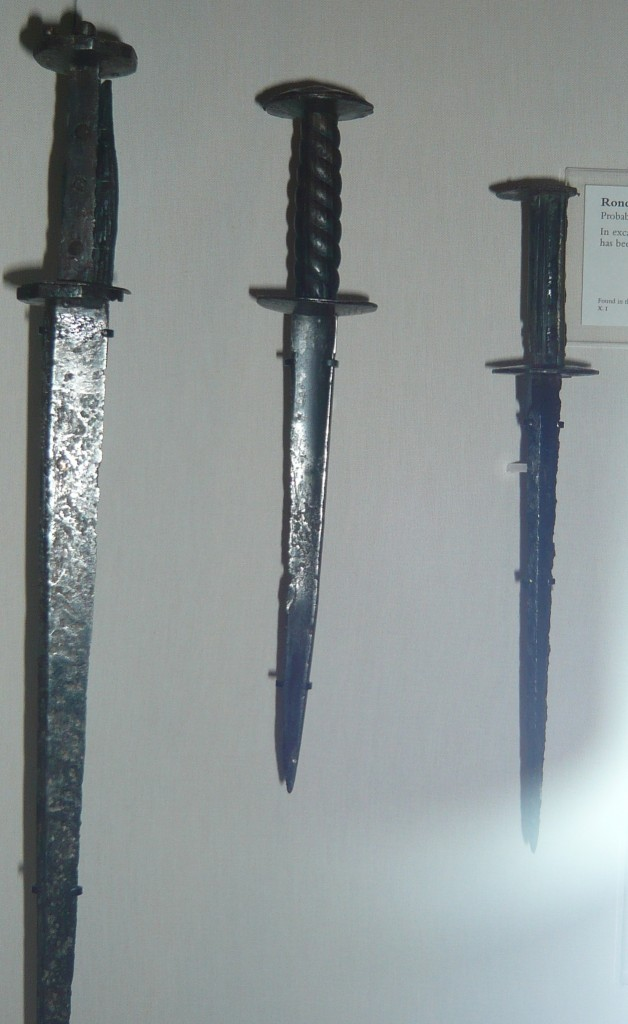 15th C Rondel Daggers - Royal Armouries, Leeds, UK